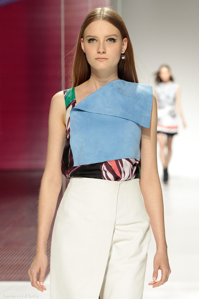 Gall Franciska idén a Dior kifutóján kapott helyet.