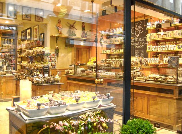 Csokoládé üzletek utcája