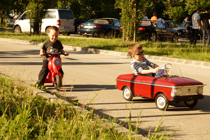 Hoodlums! Their putting the pedal to the metal has never caused any damage or harm