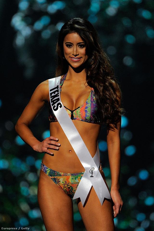 Miss Texas USA Lauren Guzman
