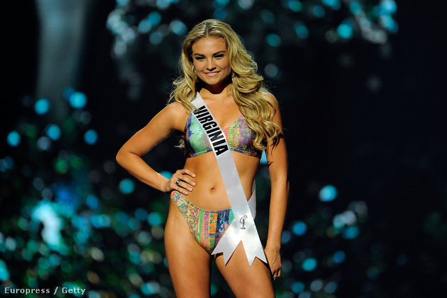 Miss Virginia USA Arielle Saige Rosmarino