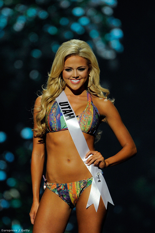 Miss Utah USA Angelia Nichole Layton