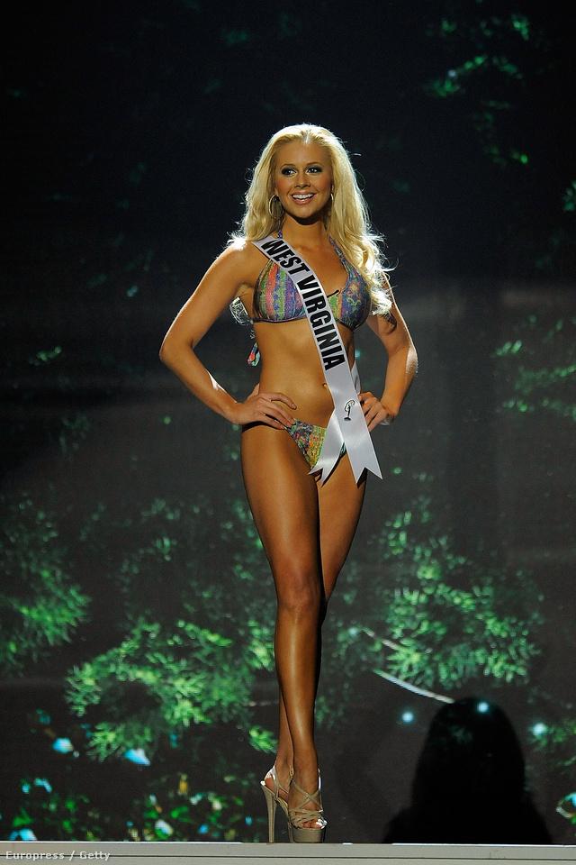 Miss West Virginia USA Charisse Haislop