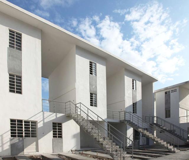 A mexikói kormány által felépített lakóparkot úgy tervezték, hogy a bérlők később megvásárolhassák és tovább örökíthessék az ingatlant.