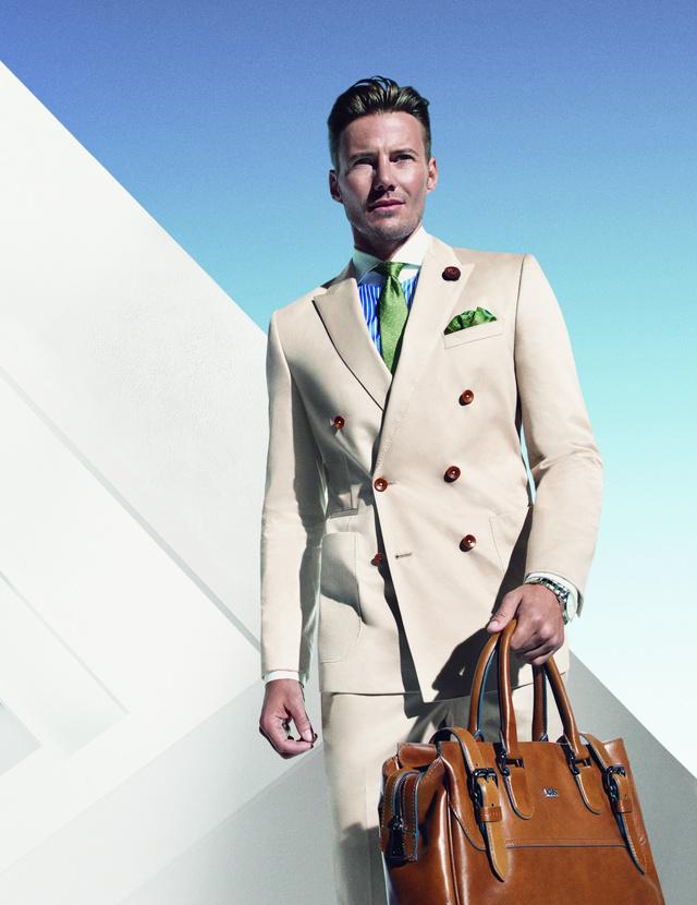 A Roland Divatház forgalmaz Hugo Boss öltönyöket is.