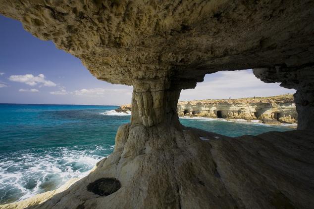 Ciprus déli partvidékének vadregényes darabja