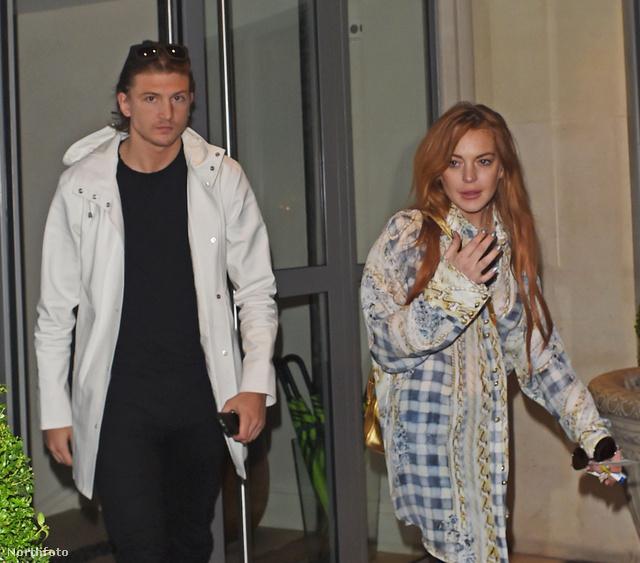 Lindsay Lohan és Tom Kilbey