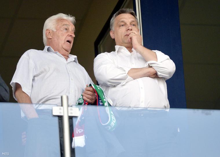 Orbán Győző és Orbán Viktor