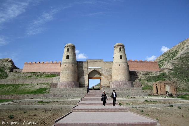 A Hissar-erőd Tadzsikisztánban