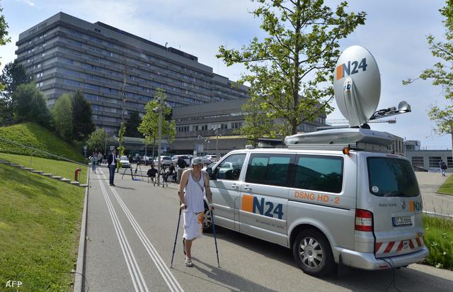 Ebben a lausanne-i kórházban ápolják jelenleg Schumachert