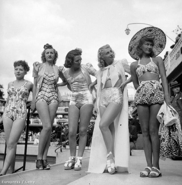 Így öltözködtek a harmincas évek végén
