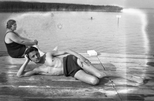 Balatonfüred, Fenék-fürdő. 1934