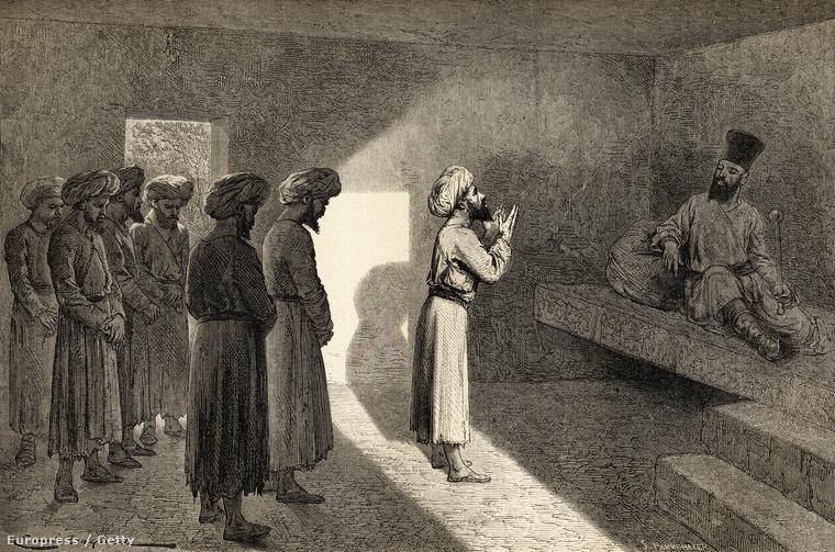Vámbéry Ármin audencián Szajjid Mohammed hivai Kánnál 1863-ban a mai Üzbegisztán területén
