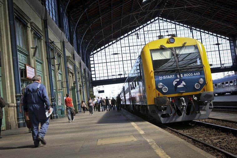 Nincs pontatlanabb a magyar vasútnál