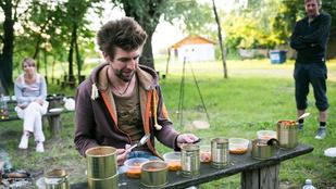 Tisza-túra: amikor a vega konzervpacalt eszik