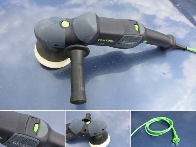 Visszafogottan dizájnolt a Festool gép - Festool RAP 150 FF