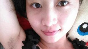 Hónaljfetisisztákat elégítenek ki a kínai lányok