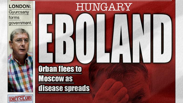 Amikor az ebola elérte Magyarországot