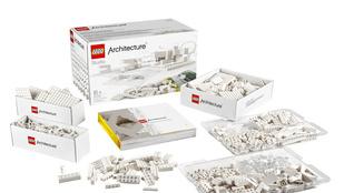 Hófehér Lego-készlet építészet- és design rajongóknak