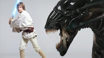 Emberi csontok is voltak az Alien díszletében