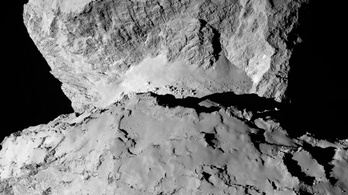 Leszállóhelyet keres a Rosetta a nap NASA-képén