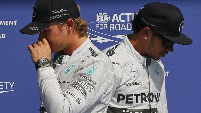 Rosberg elismerte, direkt volt