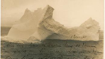 Megtalálták a Titanicot elkaszáló jéghegyet