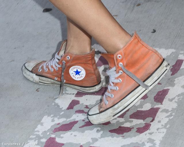 A fesztiválszezonra jó szolgálatot tehet egy Converse, mosás után olyan, mintha vadiúj lenne.