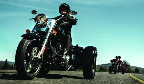 Háromkerekű Harley – nem óvodásoknak