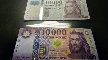 Így néz ki az új forint, már holnaptól hivatalos az új tízezres