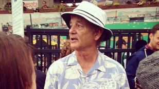 Bill Murray továbbra is szórakoztató