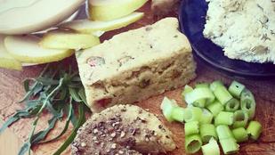 Tejmentes sajttál vegánoknak és allergiásoknak