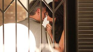Így romantikázik titokban Clooney