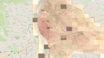 Ilyen térképeket még biztos nem látott Budapestről