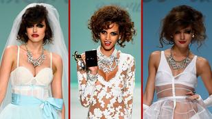 Villantós menyasszonyi ruhák mindenkinek!