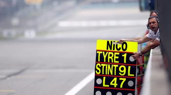Totális F1-tiltás: táblán sem szabad üzenni