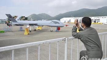 Új fotók a kínai lopakodó drónról
