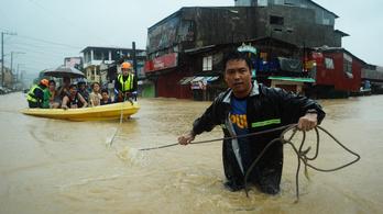 Sok volt önnek a szeptemberi eső? Akkor nézze meg, mi történt a Fülöp-szigeteken!