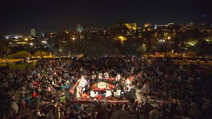 A világ minden zenéje megfért egymással a jeruzsálemi békefesztiválon
