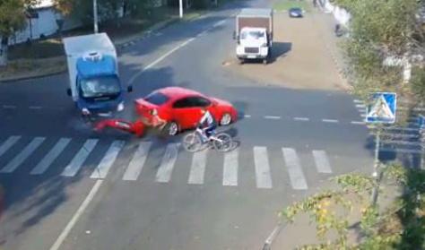 Íme, egy mázlista biciklis