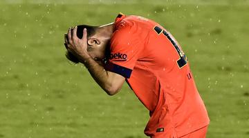 Messi tizenegyese a kaput sem találta el