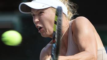 Wozniacki elfelejtette átvenni a 300 milliót, amit nyert