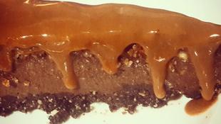 Csokoholista torta – nyers és vegán módra