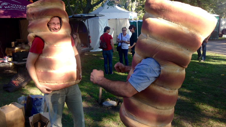 Drámai hírt jelentettek be a kürtőskalács fesztiválon