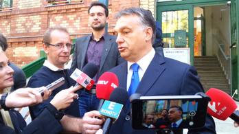 Bréking: Orbán Viktor szóba állt a sajtóval