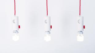 Minimalista lámpa, aminél nem kell döntéseket hoznia