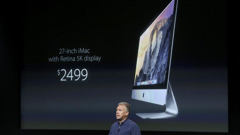 15 millió pixel van az iMac kijelzőjén
