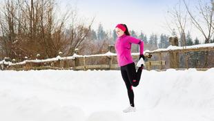Ezeket a szabályokat tartsa be, ha hidegben edz