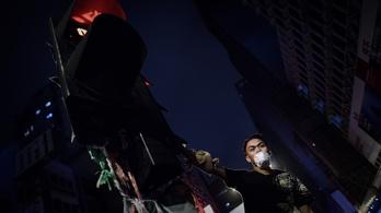 Hongkongban nem látszik a tüntetés vége