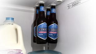 Miért is nem lógatjuk a söröket a hűtő plafonjáról?
